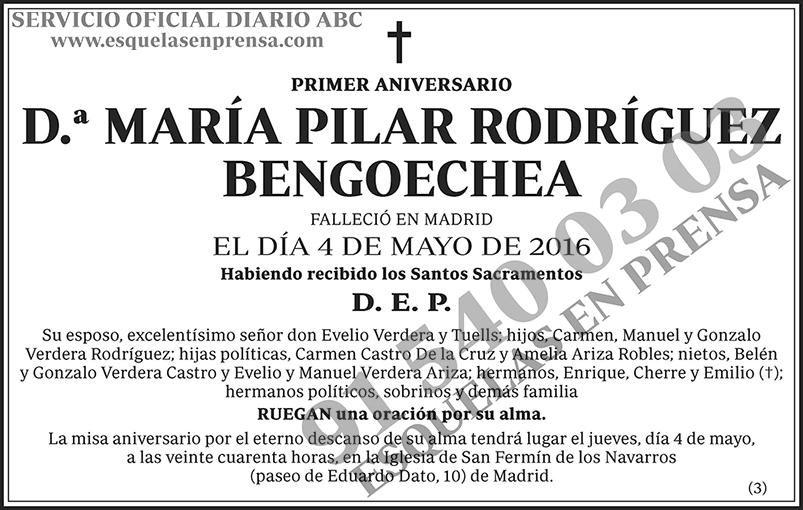 María Pilar Rodríguez Bengoechea